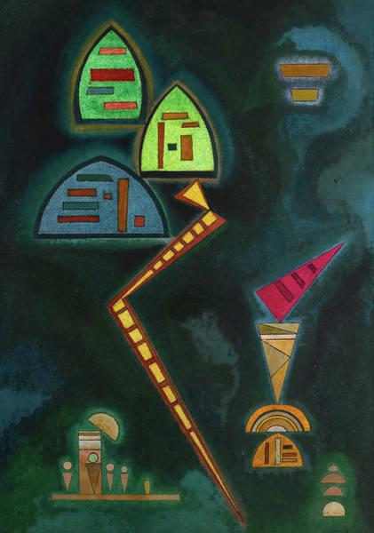 Wassily Kandinsky Painting - Green, 1929 by Wassily Kandinsky