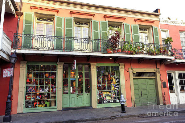 Photograph - Green Accents In New Orleans by John Rizzuto