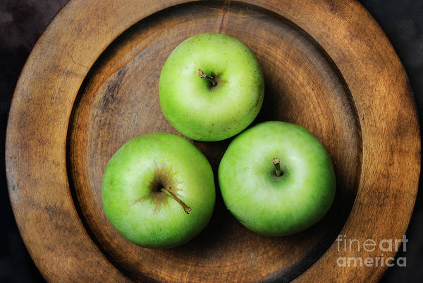 Wall Art - Photograph - Green Apples by Jelena Jovanovic