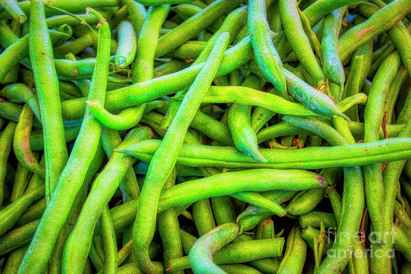 Photograph - Green Beans by Janice Pariza