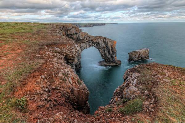 Wall Art - Photograph - Green Bridge Of Wales - Wales by Joana Kruse