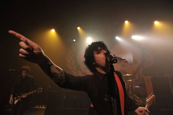 Green Day Photograph - Green Day At The Henry Fonda Theater In by Stephen Albanese