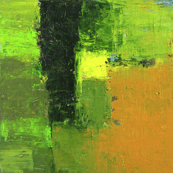Wall Art - Painting - Green Envy Abstract Painting by Nancy Merkle