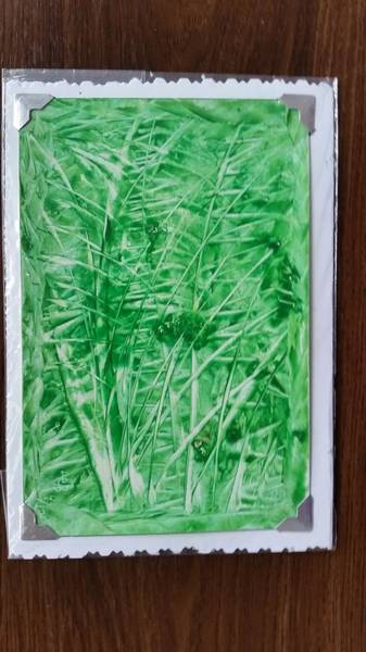 Painting - Green Jungle by Lorraine Bradford