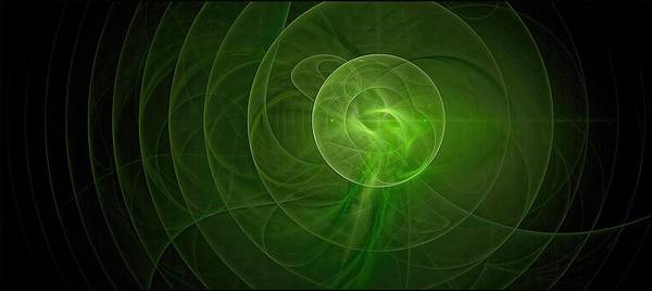 Digital Art - Green Lantern Resonance 2 by Doug Morgan