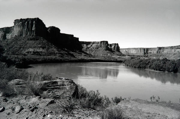 Wall Art - Photograph - Green River Bend by William Wetmore