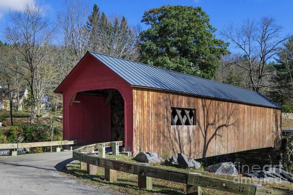 Wall Art - Photograph - Green River Covered Bridge by John Greim