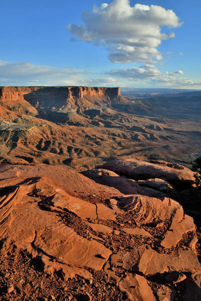 Photograph - Green River Overlook Rim In Canyonlands Np by Ray Mathis