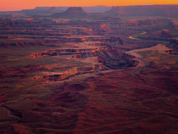 Photograph - Green River Overlook by Thomas Hall