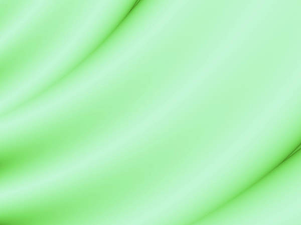 Wall Art - Digital Art - Green Satin by Rich Leighton