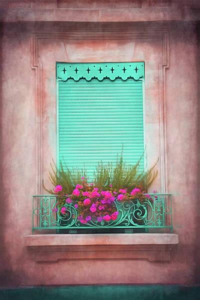 Wall Art - Photograph - Green Shuttered Window Geneva Old Town  by Carol Japp