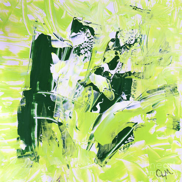 Painting - Green Splash by Cheryl McClure