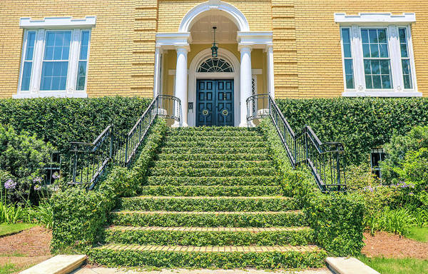 Photograph - Green Stairs by Dan Sproul