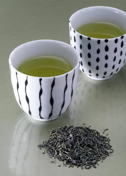 Teapot Photograph - Green Tea by Jonnie Miles
