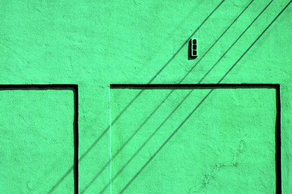 Photograph - Green Wall by Stuart Allen