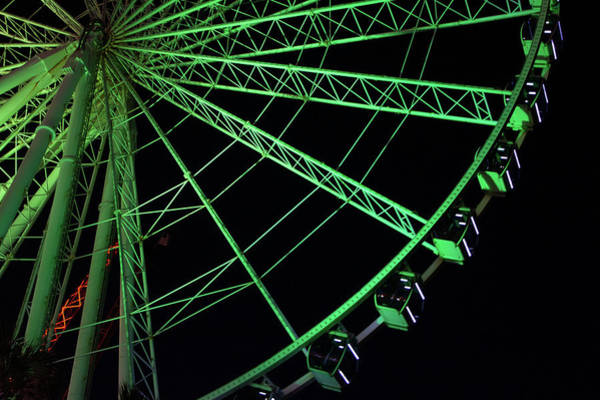 Photograph - Green Wheel by Ree Reid