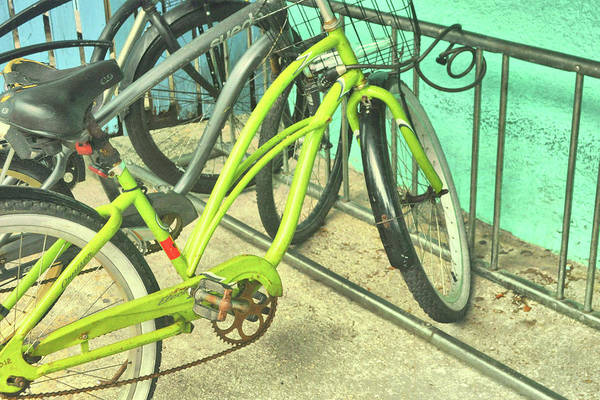 Photograph - Greencycle by Jamart Photography