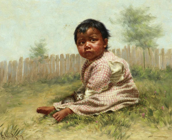 Grace Painting - Greenie, 1896 by Grace Carpenter Hudson