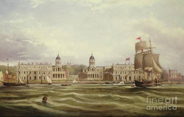 Wall Art - Painting - Greenwich by George the Younger Chambers