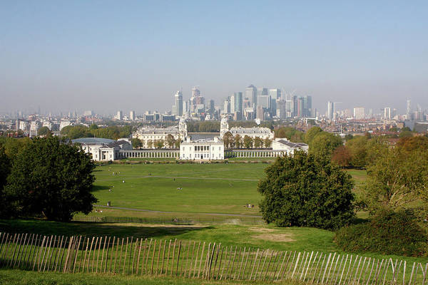 Square Mile Wall Art - Photograph - Greenwich Park, London by Aidan Moran