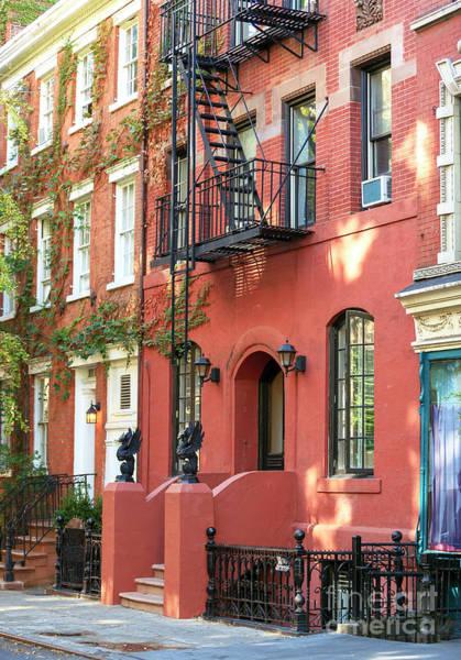 Greenwich Village Photograph - Greenwich Village Brownstone New York City by John Rizzuto