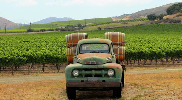 Wall Art - Photograph - Greetings From Santa Barbara Wine Country by Michael Cervin