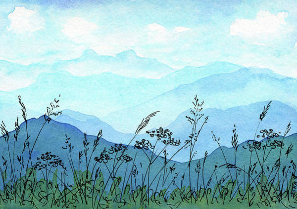 Bavarian Alps Painting - Greetings From The Mountains by Karen Kaspar