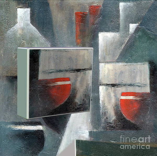 Painting - Reflections by Val Byrne