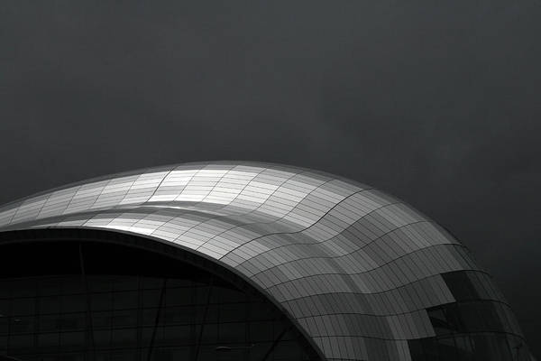 Gateshead Photograph - Grey Day by David Conniss