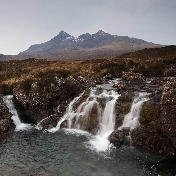Photograph - Grey Skies Over The Cuillin by Stephen Taylor