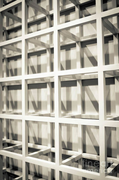 Wall Art - Photograph - Grid Abstract Washington Dc by Edward Fielding