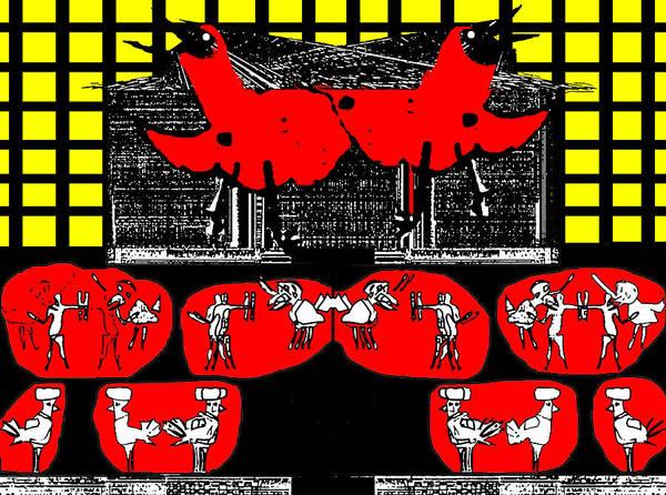 Digital Art - Gridismjr Bird Cage by Artist Dot