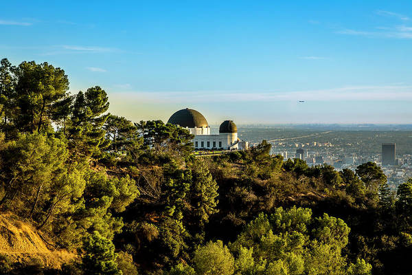 Photograph - Griffith Observatory by Gene Parks