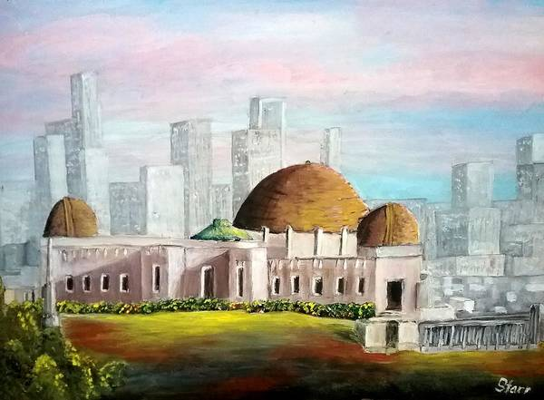 Wall Art - Painting - Griffith Observatory by Irving Starr