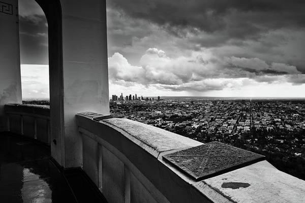 Photograph - Griffith Observatory Los Angeles by Kyle Hanson