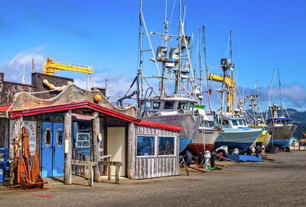 Photograph - Griffs On The Dock by Carolyn Derstine