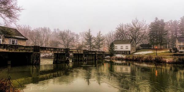 Tulpehocken Creek Photograph - Grings Mill Fog 18-019p by Scott McAllister