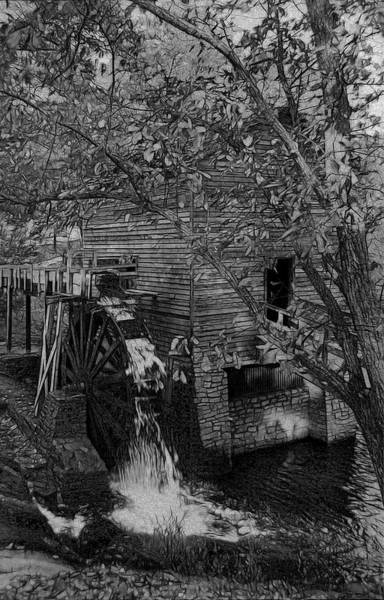 Wall Art - Photograph - Grist Mill by Mike Flynn
