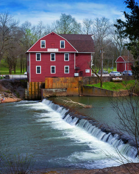 War Eagle Photograph - Gristmill At War Eagle by Gary Langley