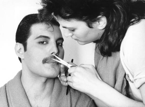 Queen Photograph - Grooming Freddie by Steve Wood