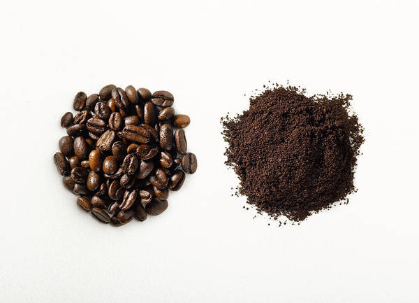 Ground Photograph - Ground Vs Roasted Coffee Beans by Jeffrey Coolidge