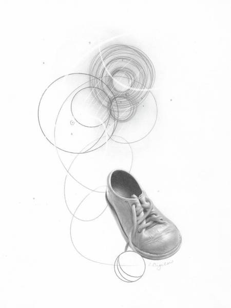Drawing - Ground Work No. 3 by Lauren Bigelow