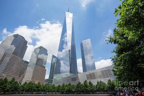 Photograph - Ground Zero - Freedom Tower 2 by Sanjeev Singhal