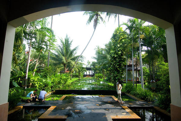 Ground Photograph - Grounds Of The Anantara Ko Samui by Lonely Planet