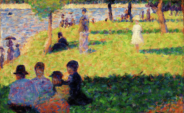 Wall Art - Painting - Group Of Figures - Digital Remastered Edition by Georges Seurat