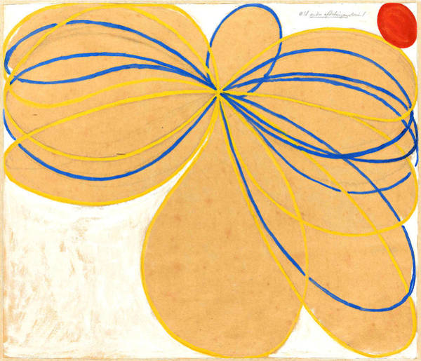 Wall Art - Painting - Group V - The Seven-pointed Star No 1 by Hilma af Klint