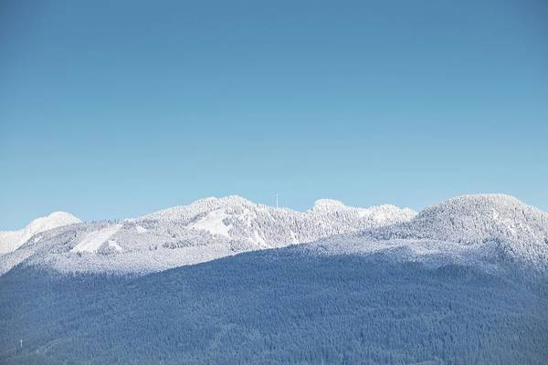 Photograph - Grouse Mountain by Juan Contreras