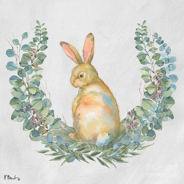 Wall Art - Painting - Grove Bunny I by Paul Brent
