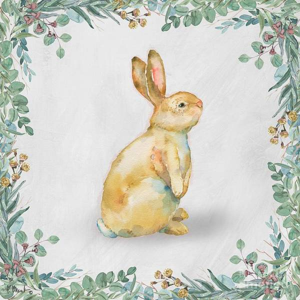 Wall Art - Painting - Grove Bunny II by Paul Brent