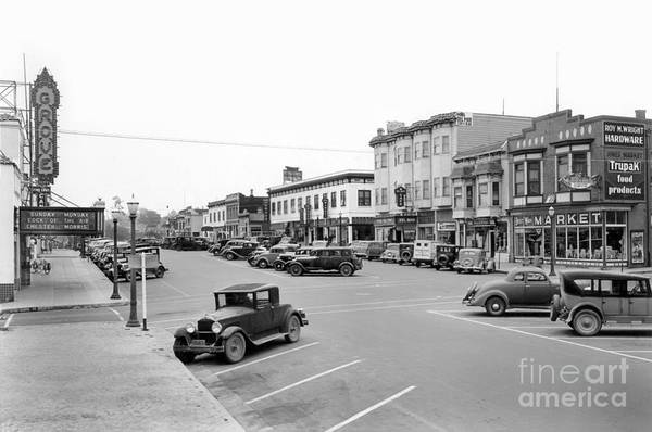Photograph - Grove Theatre At Corner Of Seventeenth Street And Lighthouse Ave by California Views Archives Mr Pat Hathaway Archives
